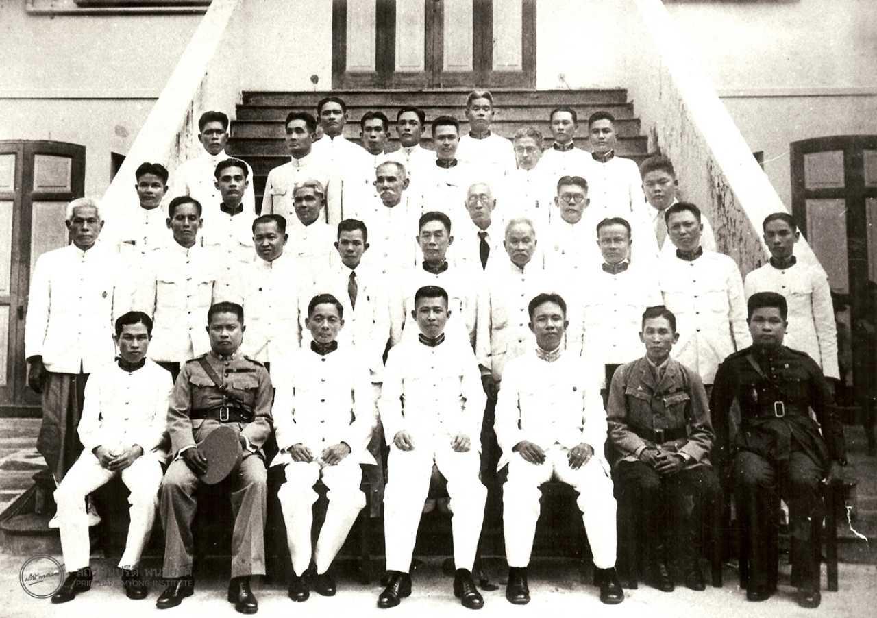 นายปรีดี พนมยงค์ นายกรัฐมนตรี ผู้ลงนามรับสนองพระบรมราชโองการในรัฐธรรมนูญฉบับ 2489