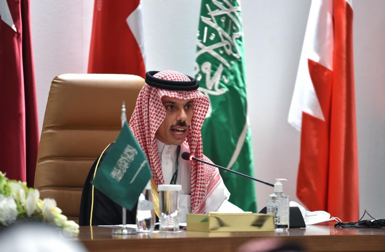 เจ้าชาย ไฟซาล บิน ฟาร์ฮัด รัฐมนตรีว่าการกระทรวงต่างประเทศของซาอุดีอาระเบีย