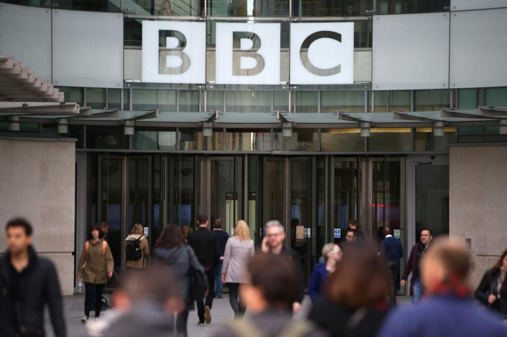 สำนักงานใหญ่ของบีบีซี ในกรุงลอนดอน ประเทศอังกฤษ