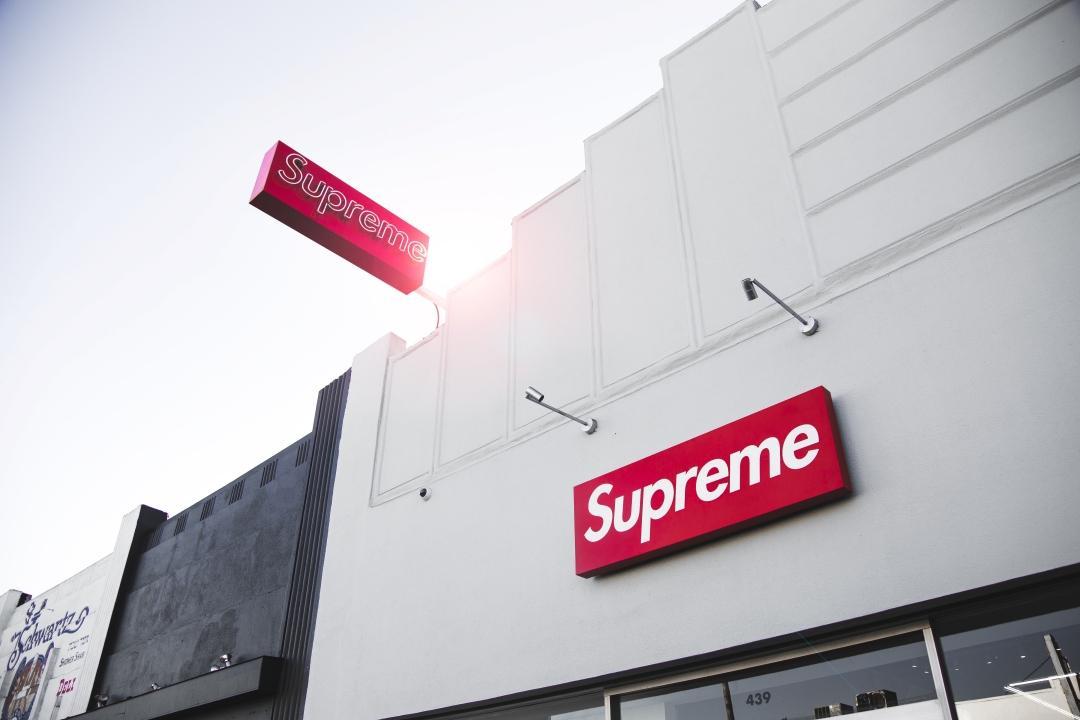 หน้าร้าน Supreme