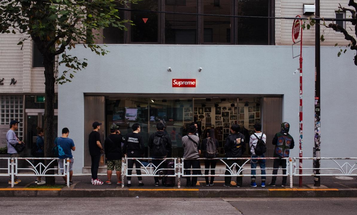 ร้าน Supreme เป็นสถานที่สำคัญของโลกแฟชั่น