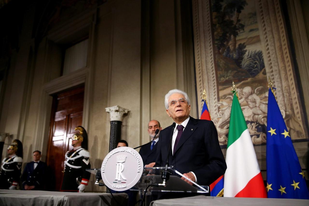 ประธานาธิบดี แซร์จิโอ มัตตาเรลลา แห่งอิตาลี