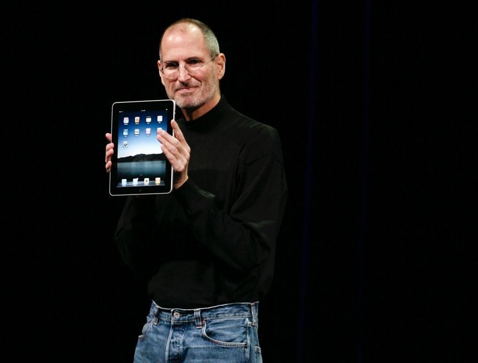 สตีฟ จ็อบส์ ผู้ร่วมก่อตั้งแอปเปิล