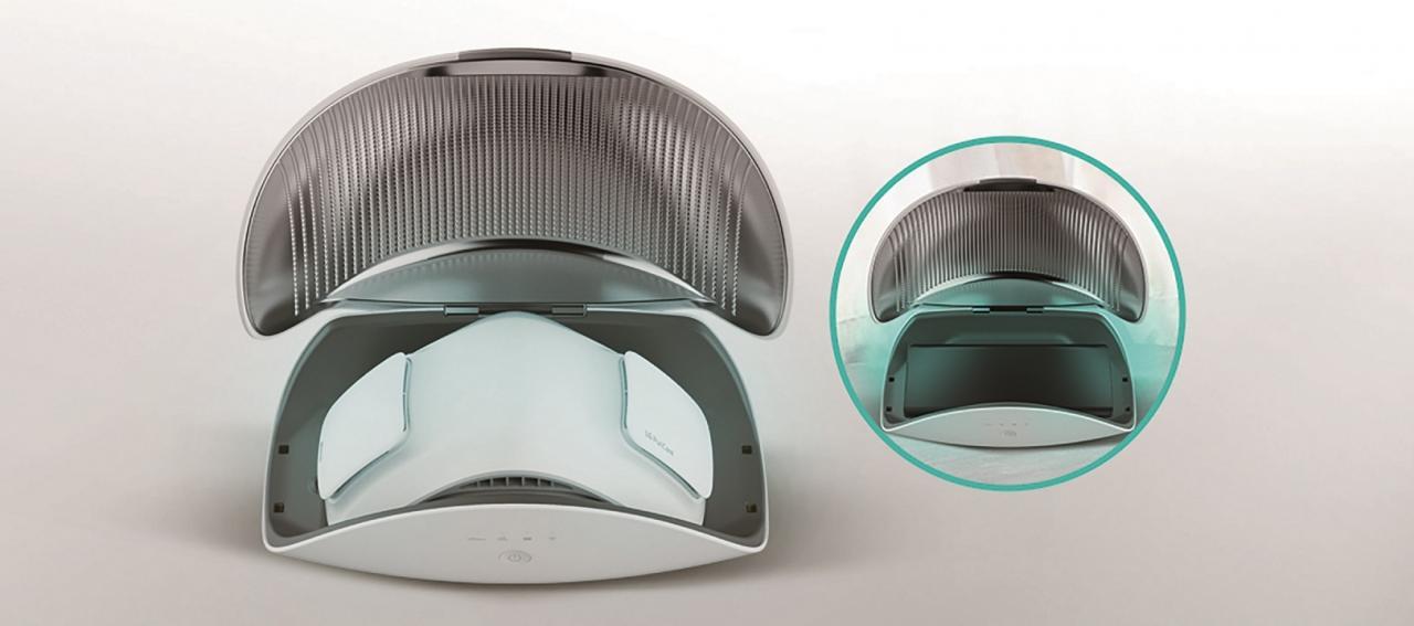 กล่อง UV สำหรับ LG PuriCare
