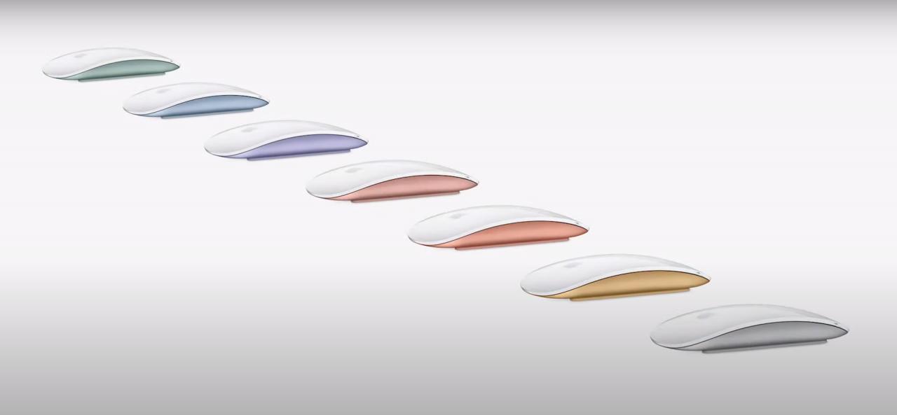 Magic Mouse 7 สี