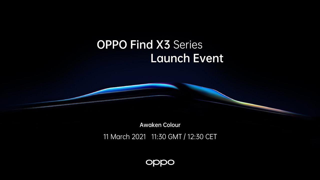OPPO เตรียมเปิดตัว OPPO Find X3 วันที่ 11 มีนาคมนี้