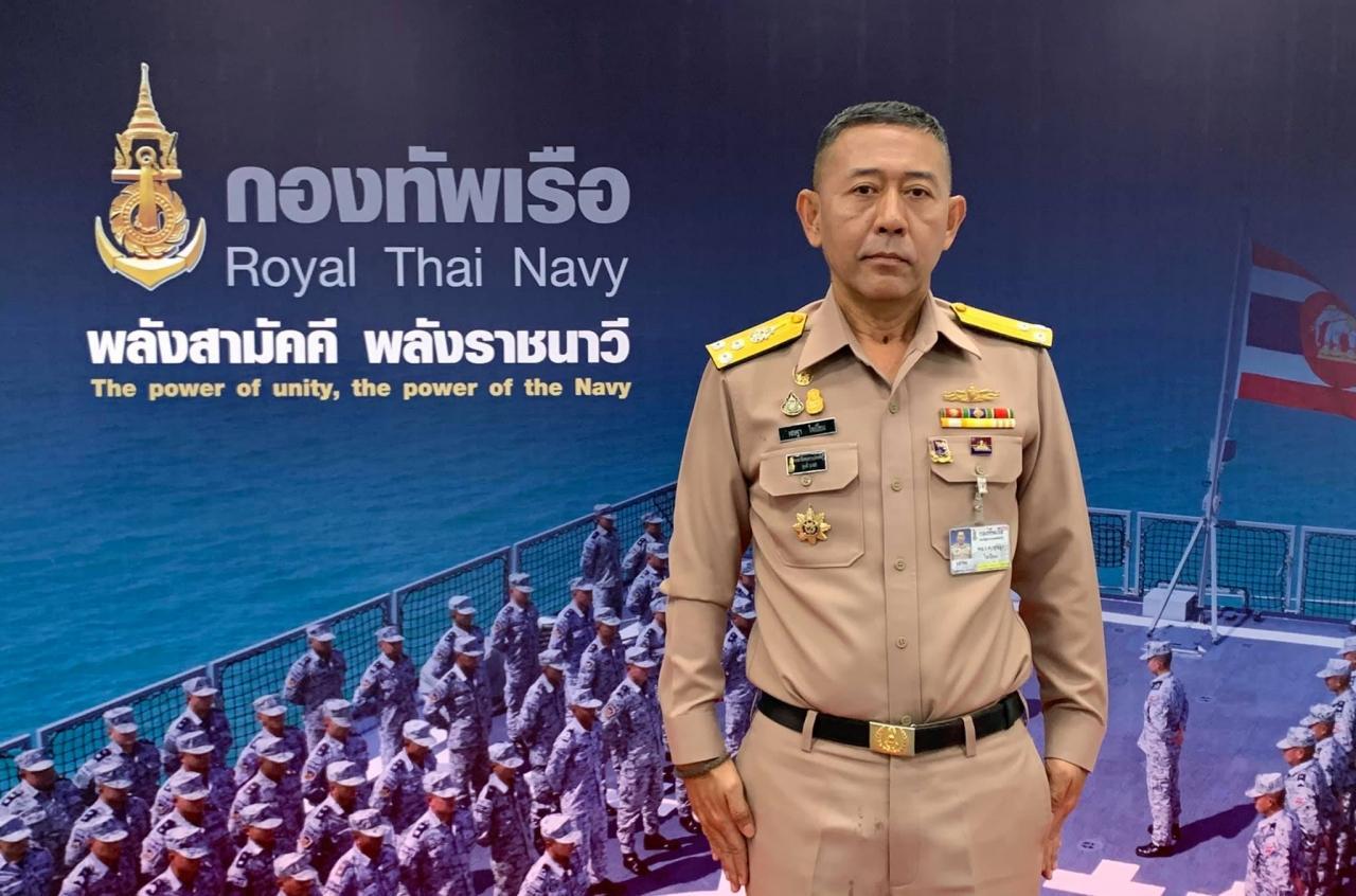 พลเรือเอกเชษฐา ใจเปี่ยม โฆษกกองทัพเรือ