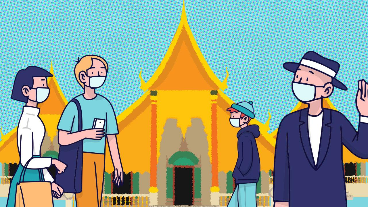 ไหว้พระเสริมดวงปีใหม่ไทย 5 วัดในเมืองไม่ปิดทำการ ไปได้แบบนิวนอร์มอล