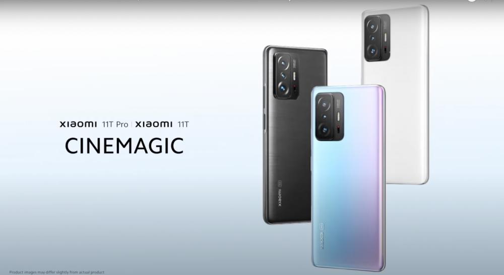 Xiaomi 11T Pro และ Xiaomi 11 มีด้วยกัน 3 สี