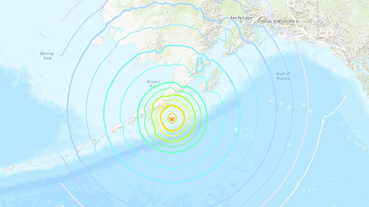 สุดระทึก เตือนสึนามิ เกิดแผ่นดินไหวแรงมาก ขนาด 8.2 เขย่าอะแลสกา