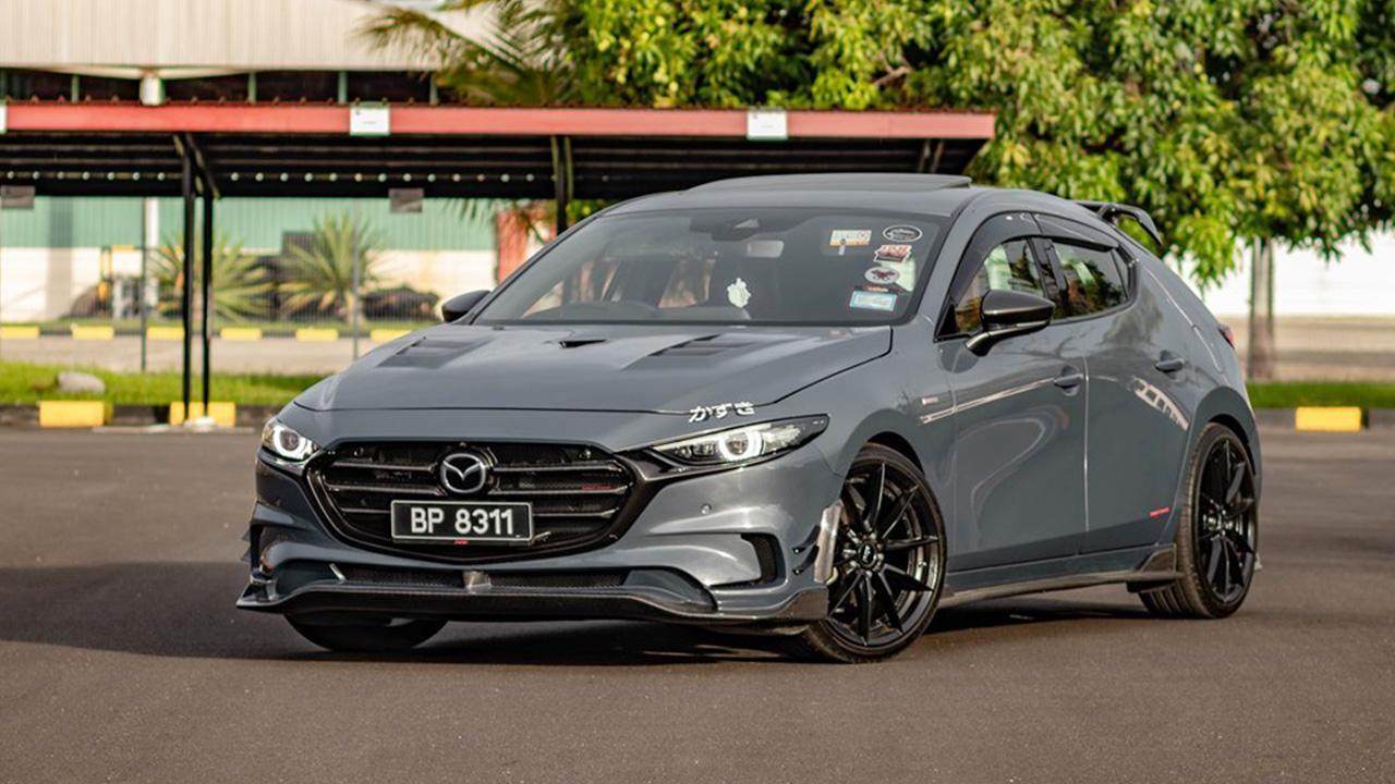 อย่างหล่อ Mazda 3 SkyActiv G Knight Sports body kit