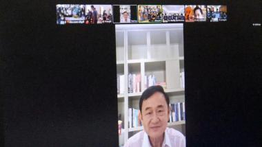 ทักษิณฉลอง 72 ปี ฟาดรัฐบาลล้าหลัง โว-อยู่ไทยใส่พีพีอีลุย แห่อวยพรวันเกิดคึก