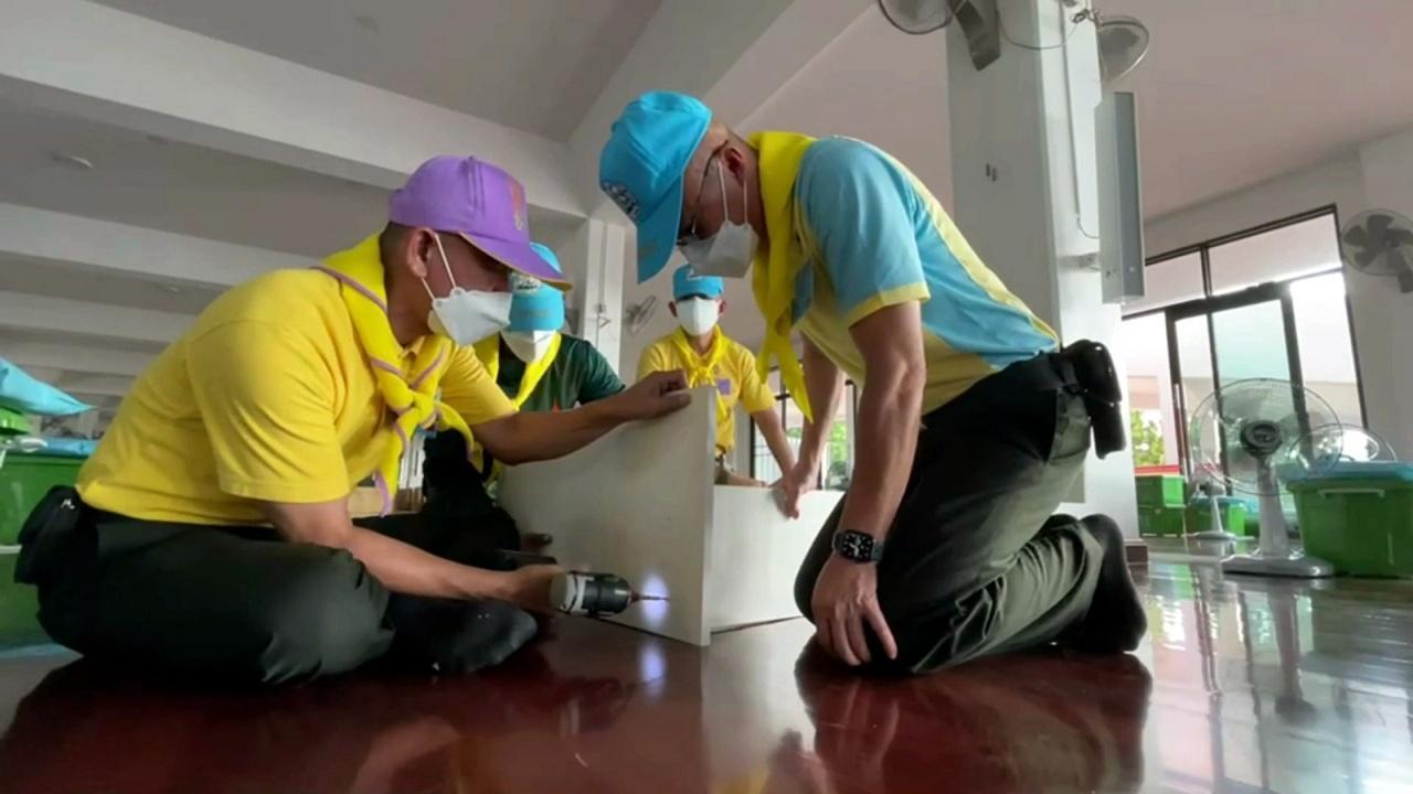 ผบ.พล.พัฒนา 1 เร่งจัดสร้าง รพ.สนามเขาวัง เพื่อรองรับผู้ป่วยโควิดราชบุรี
