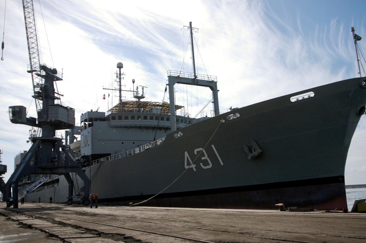 เรือรบคาร์ก เรือรบลำใหญ่สุดของอิหร่าน