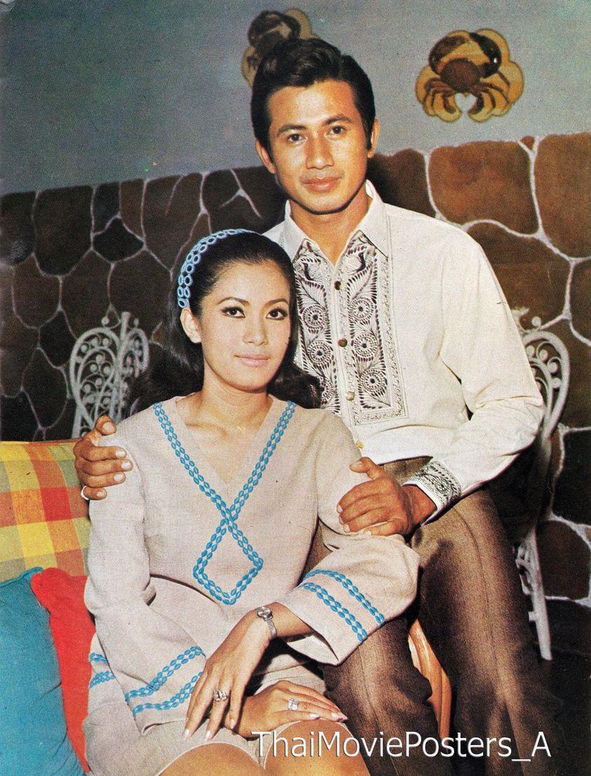 สมบัติ-อรัญญา ขอบคุณภาพจากแฟนเพจ Thai Movie Posters