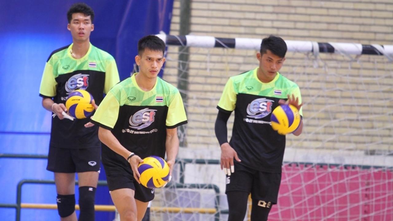 ลูกยางหนุ่มไทยยู-23 ลงซ้อมครั้งที่ 2 เตรียมบู๊ศึกชิงแชมป์เอเชีย