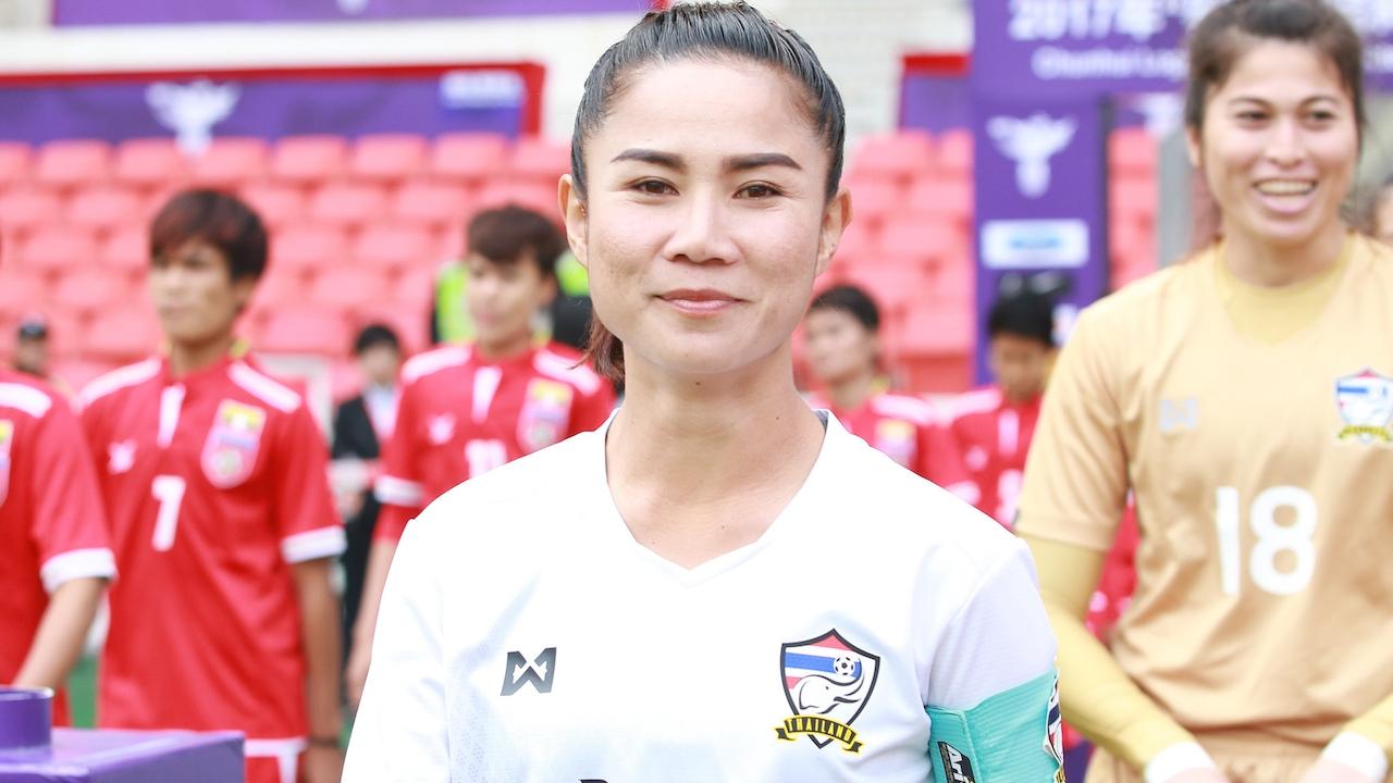 สุดภูมิใจ! 'สุนิสา' เผย น้ำตาไหลตอนเพลงชาติไทยดังในบอลโลก