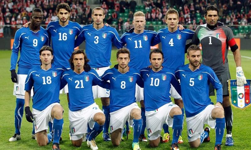ทัพนักเตะทีมชาติอิตาลี เริ่มเข้าแคมป์