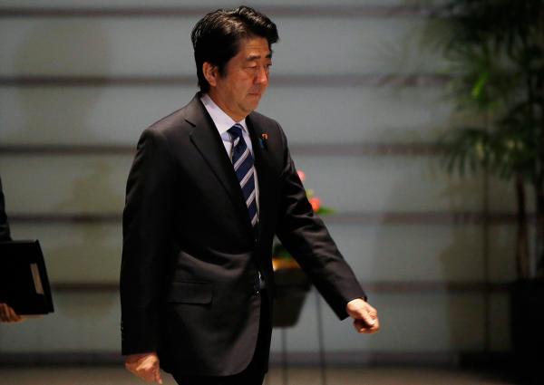 นายกรัฐมนตรี ชินโสะ อาเบะ แห่งญี่ปุ่น (ภาพ: REUTERS)