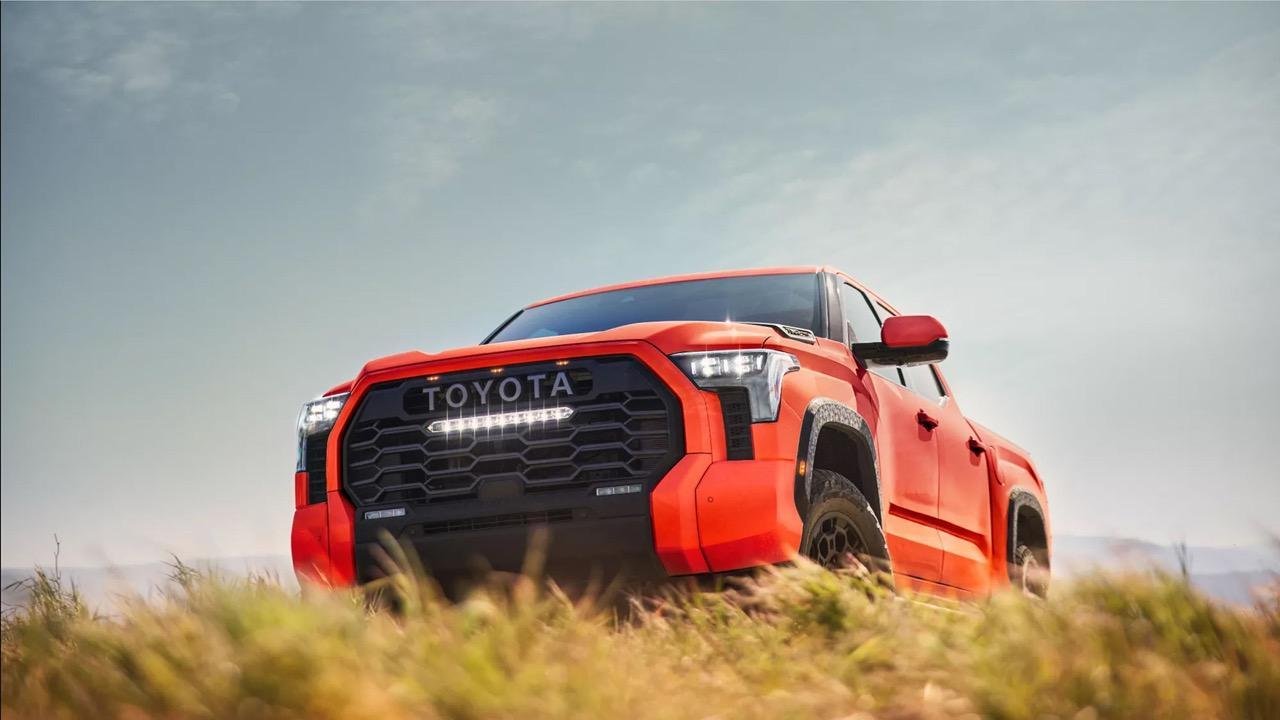 Toyota Tundra 2022 กระบะช้างยักษ์ ขุมพลัง Land Cruiser 300
