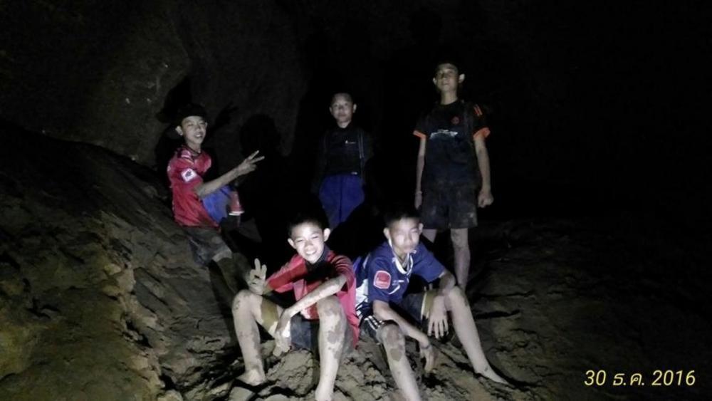 ภาพในอดีตที่เคยเข้าไปในถ้ำหลวง