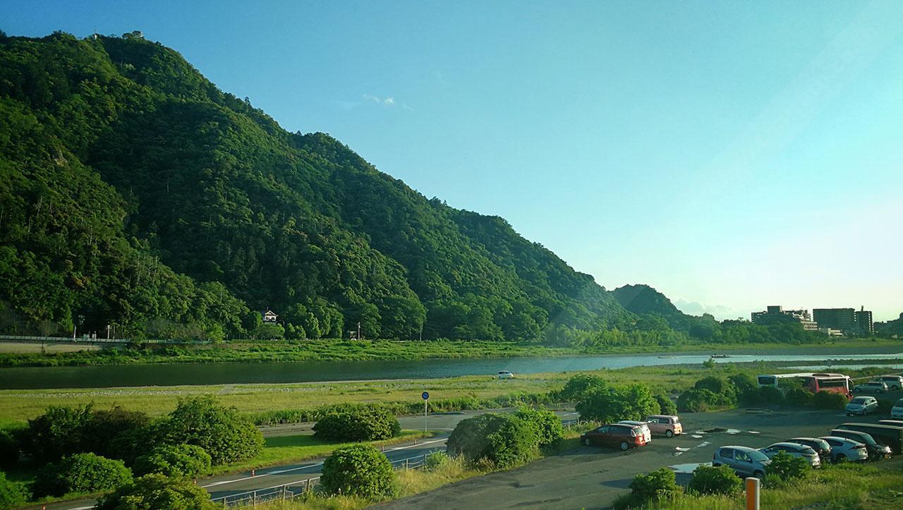สภาพภูมิประเทศ ทางตอนกลางของประเทศญี่ปุ่นที่สวยงาม