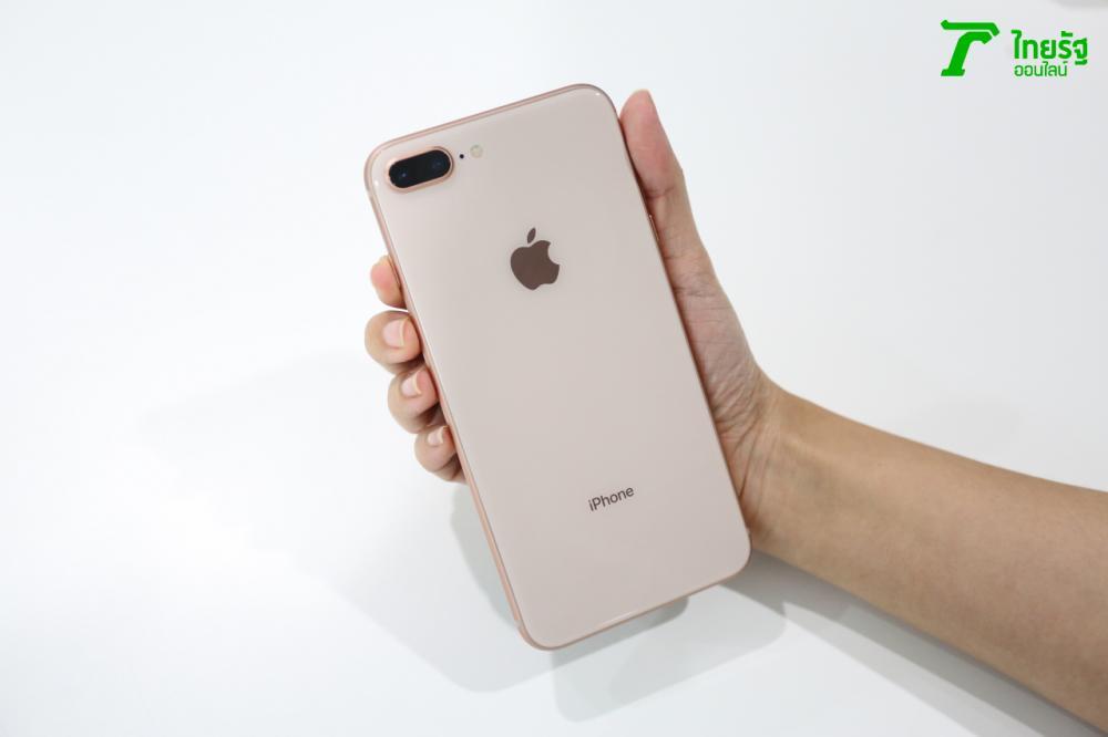 ด้านหลัง iPhone 8 Plus