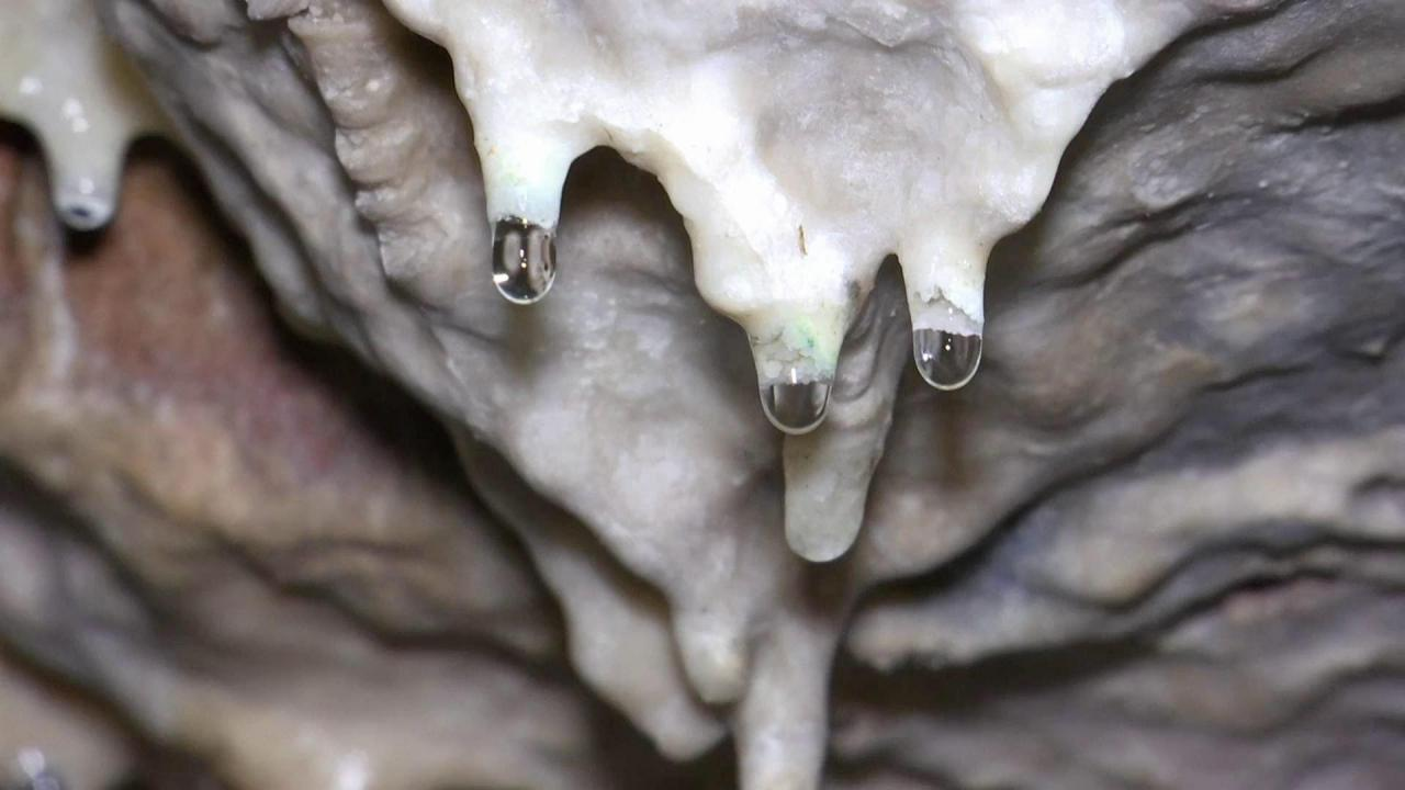 """""""บ่อน้ำทิพย์"""" แหล่งน้ำศักดิ์สิทธิ์ วัดถ้ำเขาพลู หมู่ที่ 3 ตำบลชุมโค อ.ปะทิว จ.ชุมพร"""