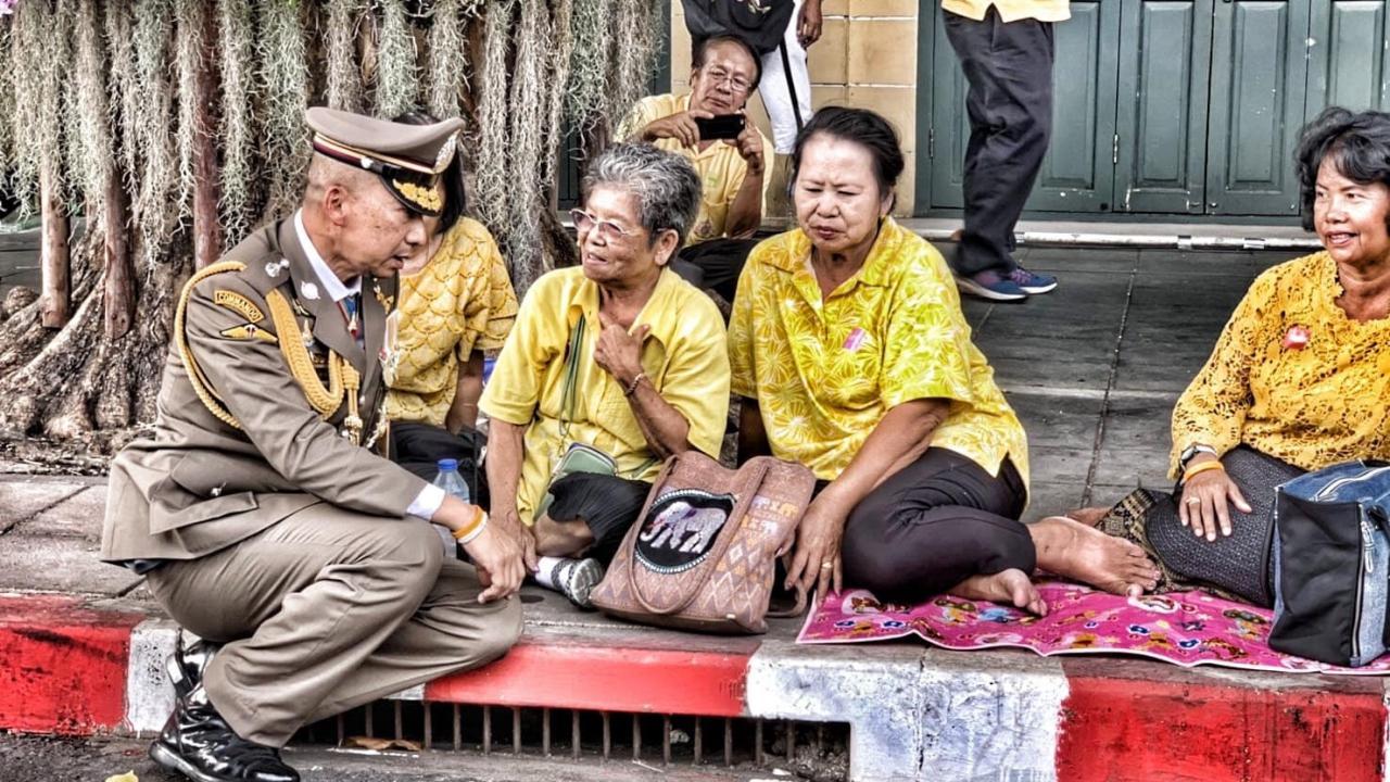 พล.ต.ต.ต่อศักดิ์ สุขวิมล ผู้บังคับการตำรวจมหาดเล็กราชวัลลภรักษาพระองค์ 904