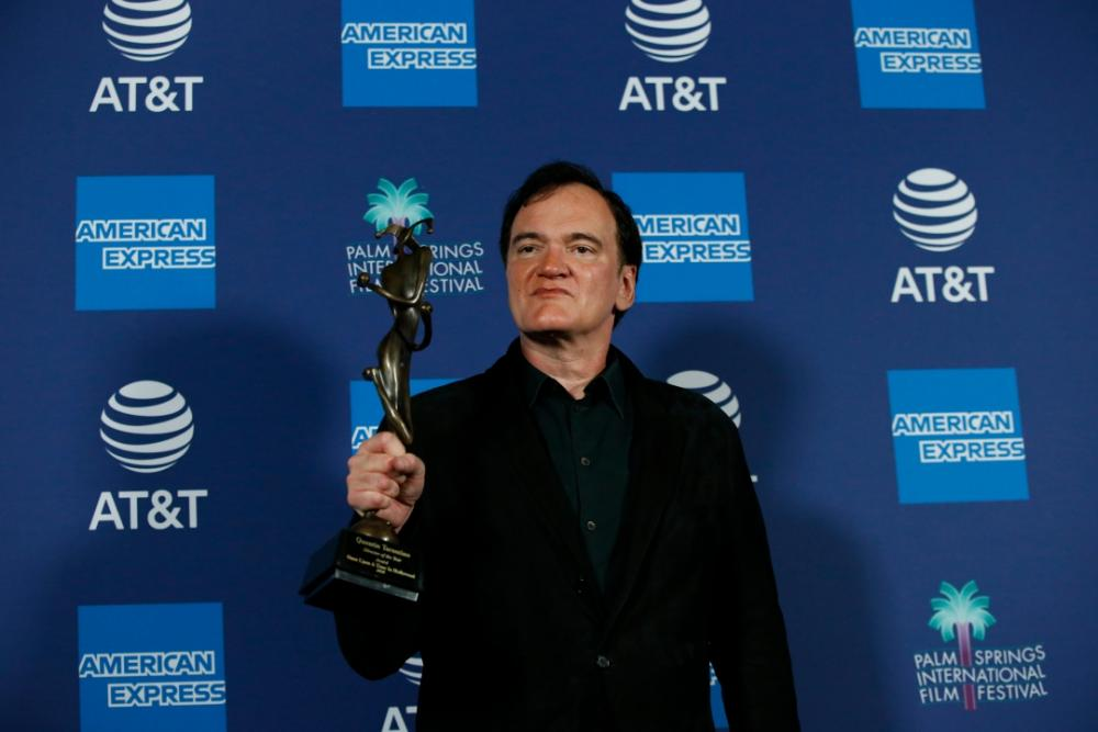 ผู้กำกับแห่งปี Director of the Year Award เควนติน ทาแรนติโน่ จากหนังแรง Once Upon a Time in Hollywood