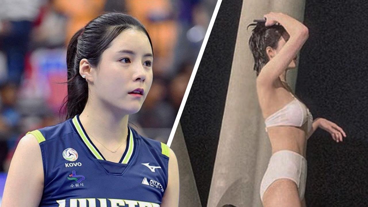 ส่อง 10 ภาพใจละลาย ซุปตาร์ลูกยางสาวเกาหลีใต้