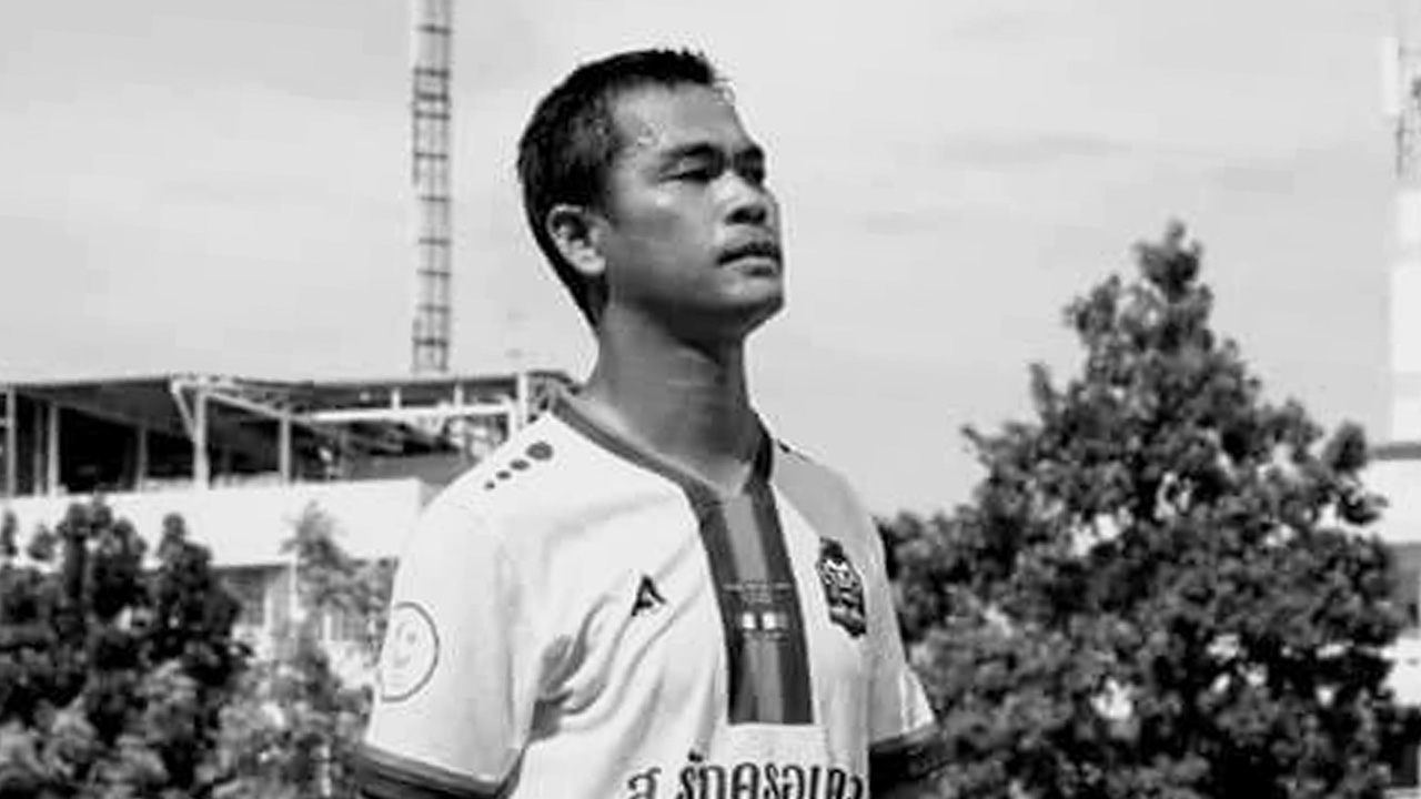 สุดเศร้า อดีตกองหน้าทีมชาติไทยประสบอุบัติเหตุเสียชีวิต