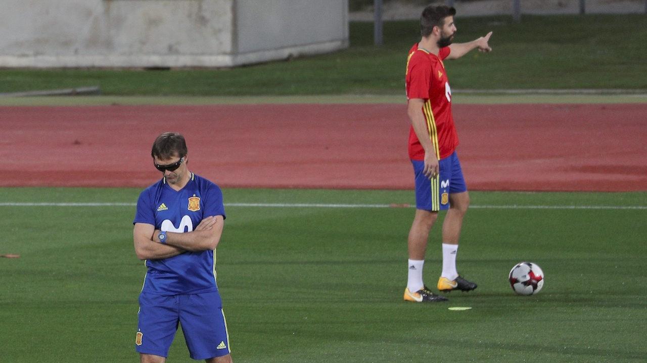 อย่าโยงการเมือง! 'โลเปเตกี' หนุน 'ปิเก' รับใช้ทีมชาติสเปนต่อ