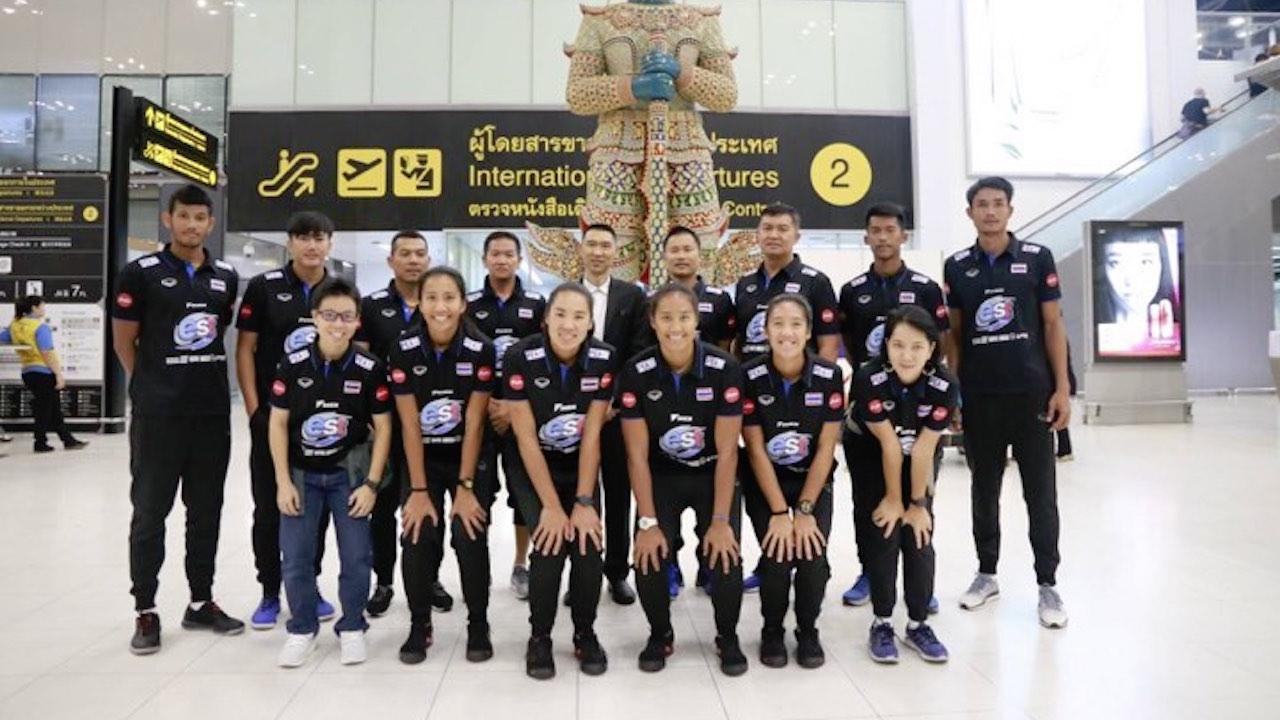 ทัพลูกยางชายหาดไทย เหินฟ้าร่วมทำศึกเอเชียน บีช ทัวร์ ที่โอซากา