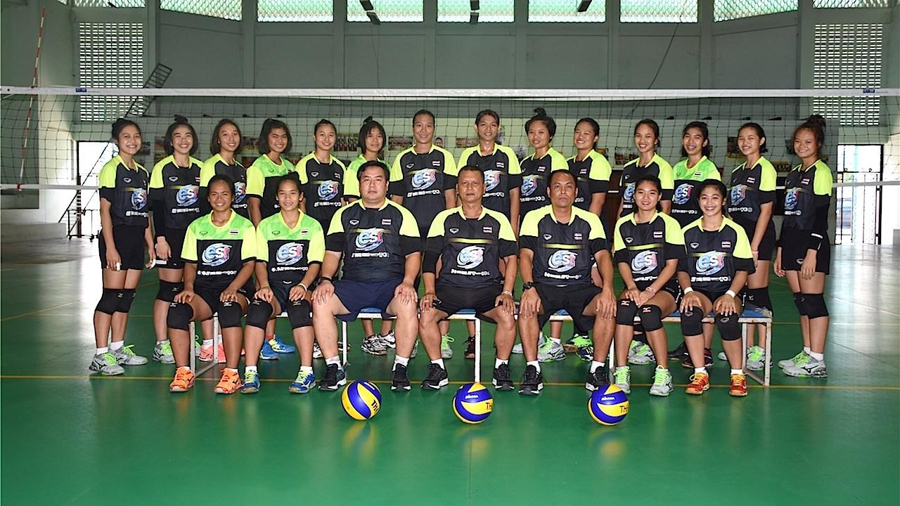 สมาคมลูกยาง ประกาศชื่อ 12 ผู้เล่นหญิงยู-18 ชุดชิงแชมป์โลก