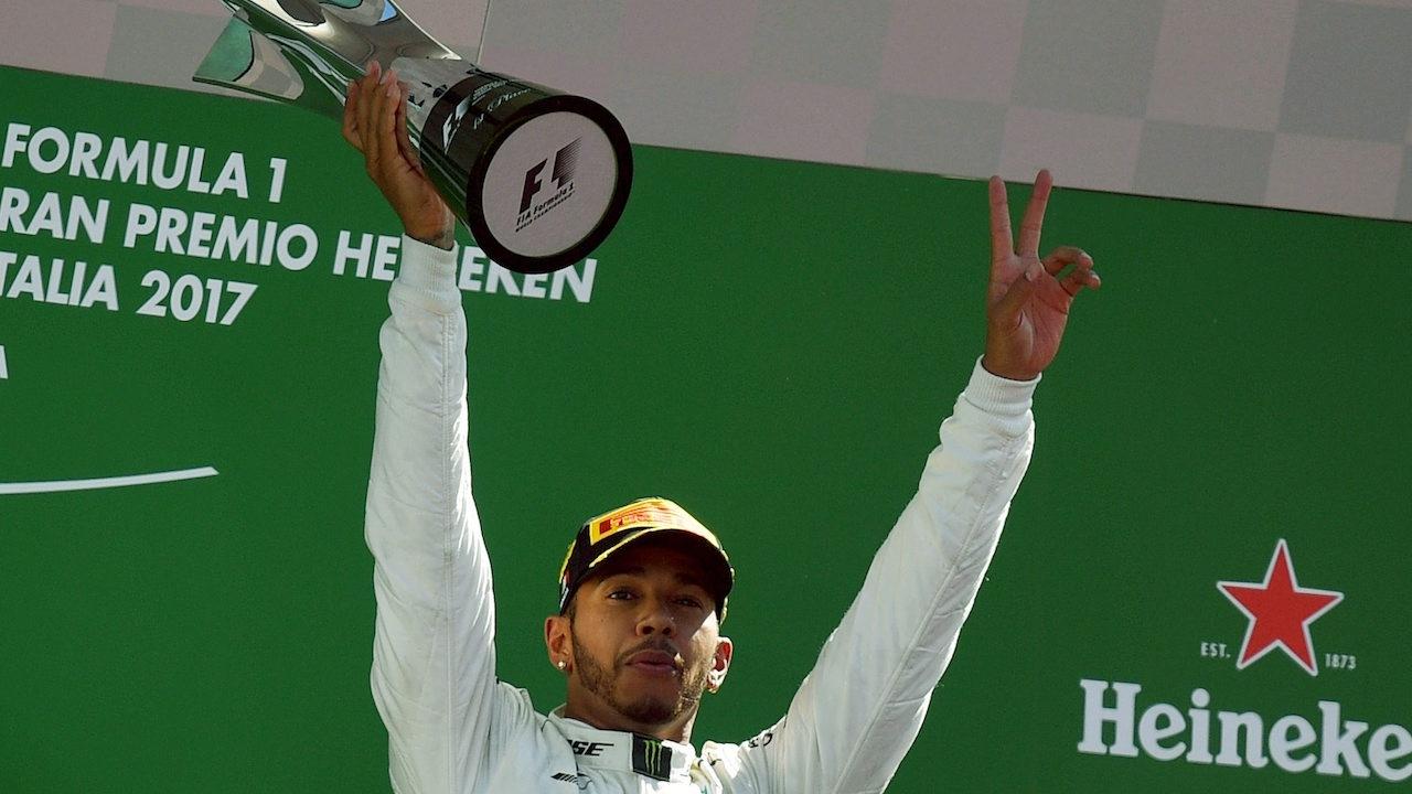 แฮมิลตัน ทวงบัลลังก์! คว้าแชมป์อิตาเลียน กรังด์ปรีซ์ แซงเวทเทลนำฝูง F1
