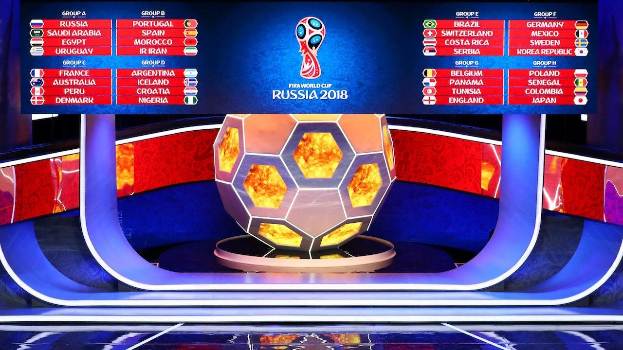 มาแล้ว!! บ่อนเปิดราคาทีมเต็งแชมป์บอลโลก 2018 มีสองทีมได้พันเท่า