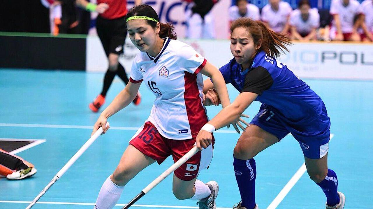 สาวไทยพ่ายญี่ปุ่น 2-5 รอเล่นรอบจัดอันดับ ฟลอร์บอลโลก