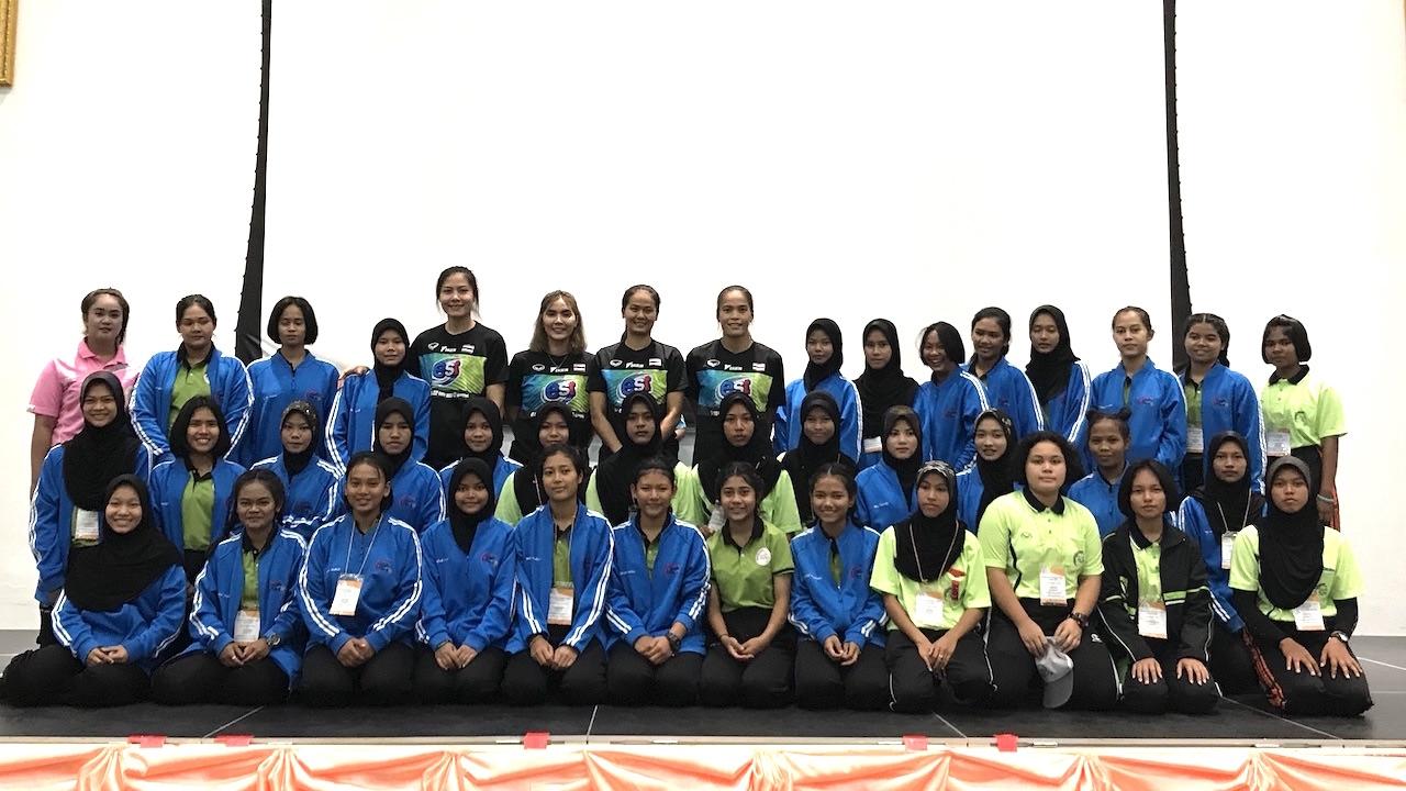 'กัปตันกิ๊ฟ' นำทัพนักตบลูกยางสาวไทย สร้างแรงบันดาลใจให้เด็กสานฝันฯ