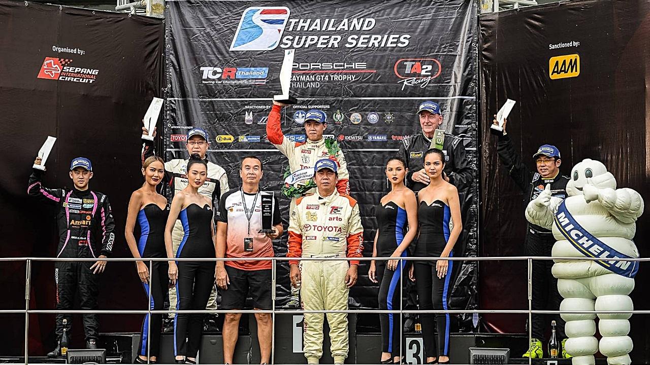 โตโยต้า ทีมไทยแลนด์ ซิวแชมป์ Thailand Super Series 2018