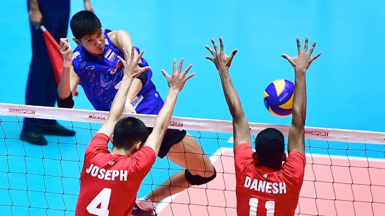 เฉียบ! 'ตบหนุ่มไทย' อัด 'มาเลเซีย' 3-0 ลิ่วตัดเชือก ลูกยางเอเชีย ยู-18