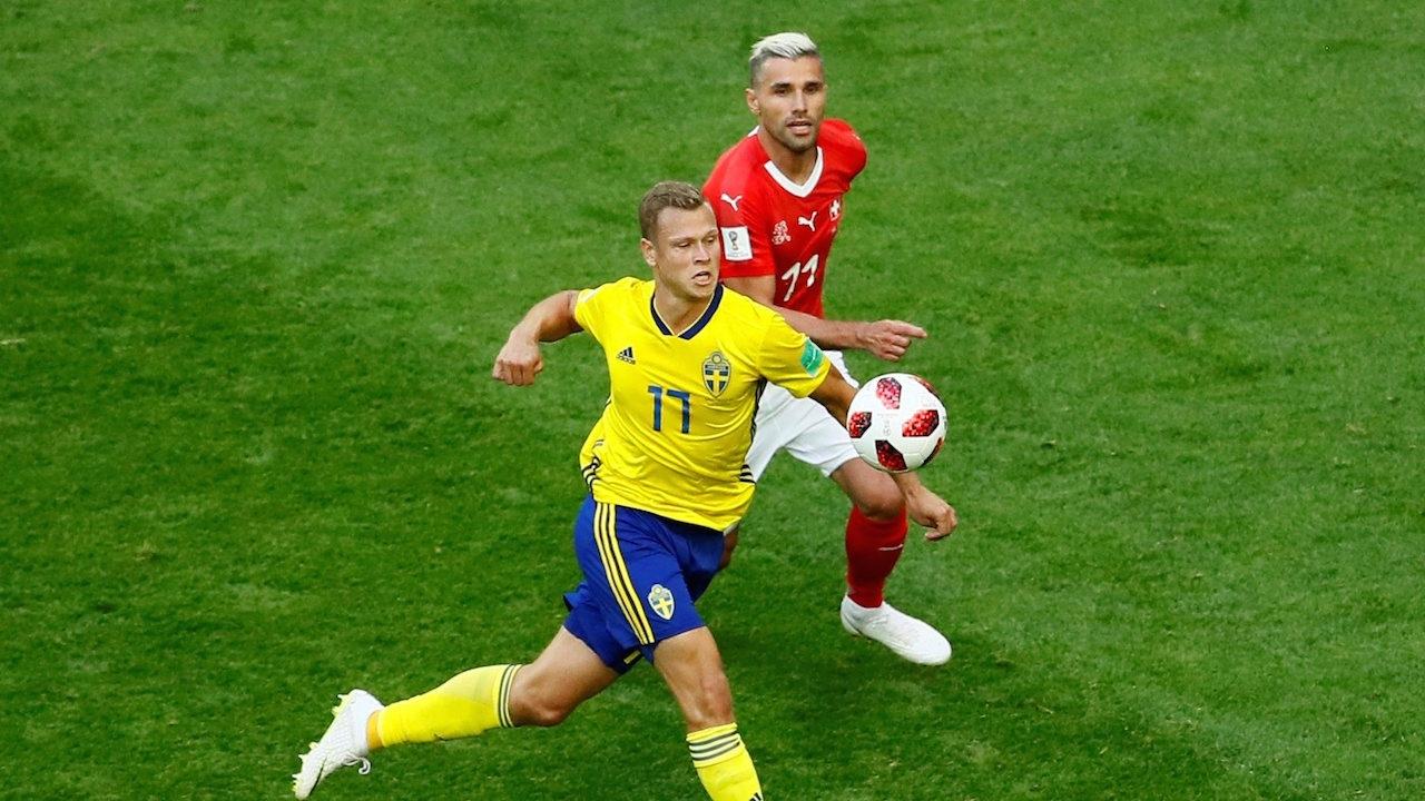 แค่เสียวยังไม่ตุง! หมดครึ่งแรก สวิตฯ ยังเจ๊า สวีเดน 0-0
