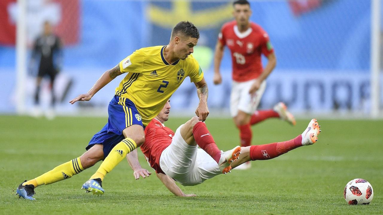 โป้งเดียวจอด! สวีเดนปาดเหงื่อ ดับสวิตฯ 10 คนสุดหวิว 1-0