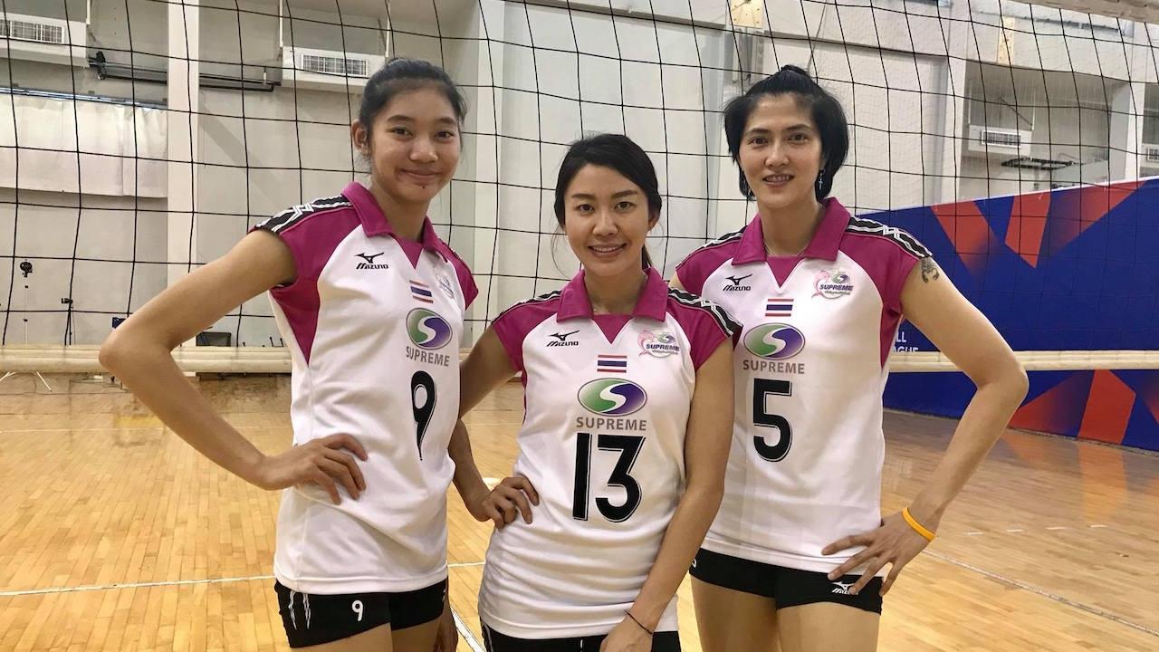 จัดเต็ม! 'สุพรีมฯ' คว้า 3 ดาวตบทีมชาติไทย ลุยศึกสโมสรเอเชีย