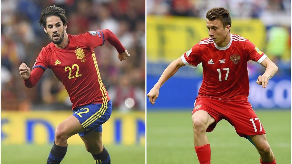 มาแล้ว!! รายชื่อตัวจริง 'สเปน' ลงฟัด 'รัสเซีย' รอบ 16 ทีม