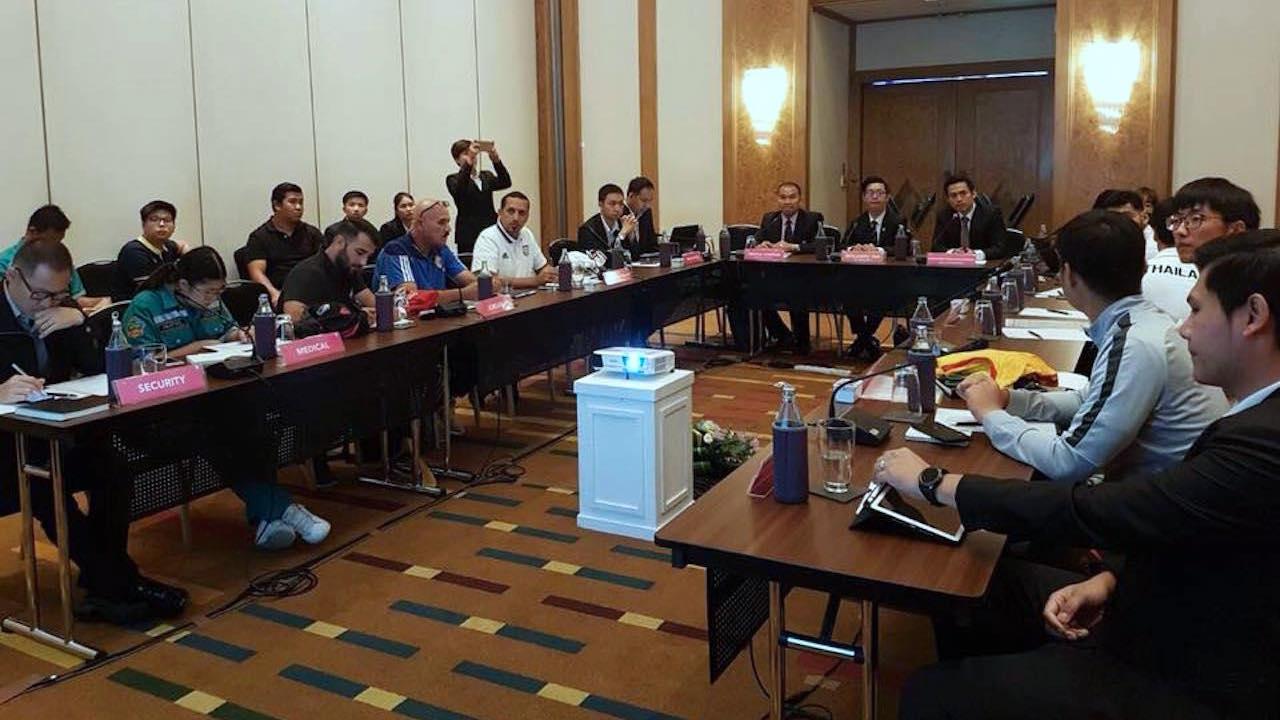 ตัวแทน 4 ชาติร่วมประชุมทีมก่อนเปิดฉาก 'GSB Bangkok Cup 2018'