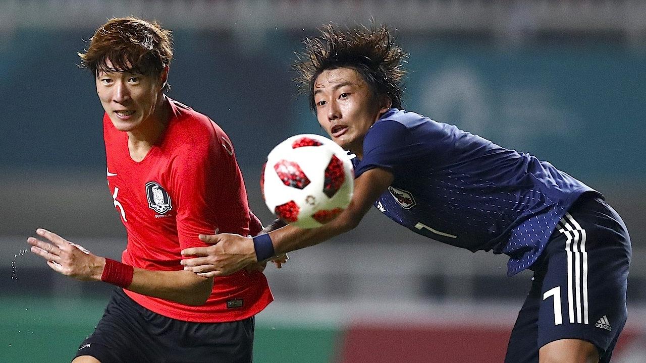 เกาหลีใต้ต่อเวลาพิชิตญี่ปุ่น 2-1 คว้าเหรียญทองบอลชาย