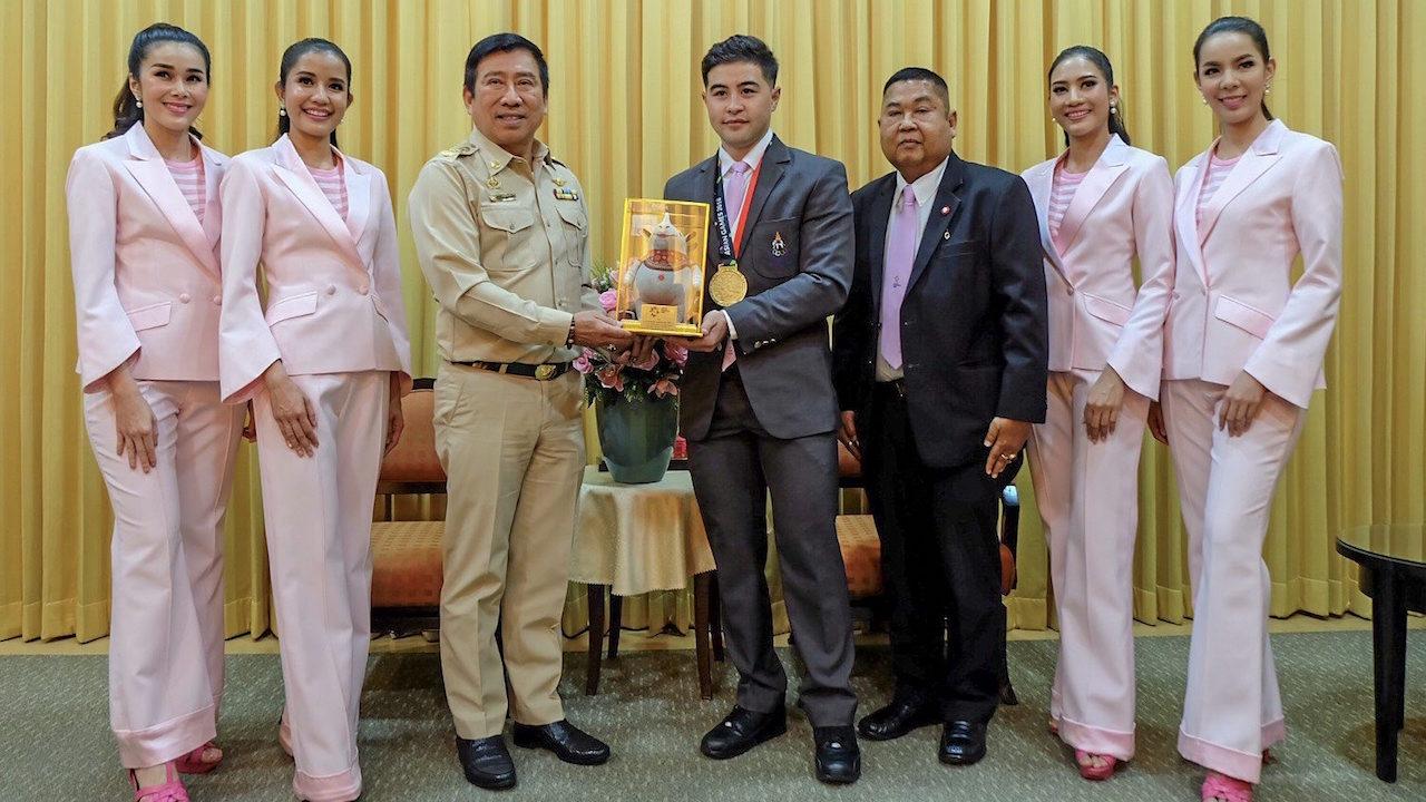 'ออมสิน' ใจป้ำ! พร้อมหนุนสองล้อไทย ซิวตั๋วลุยโอลิมปิก 2020