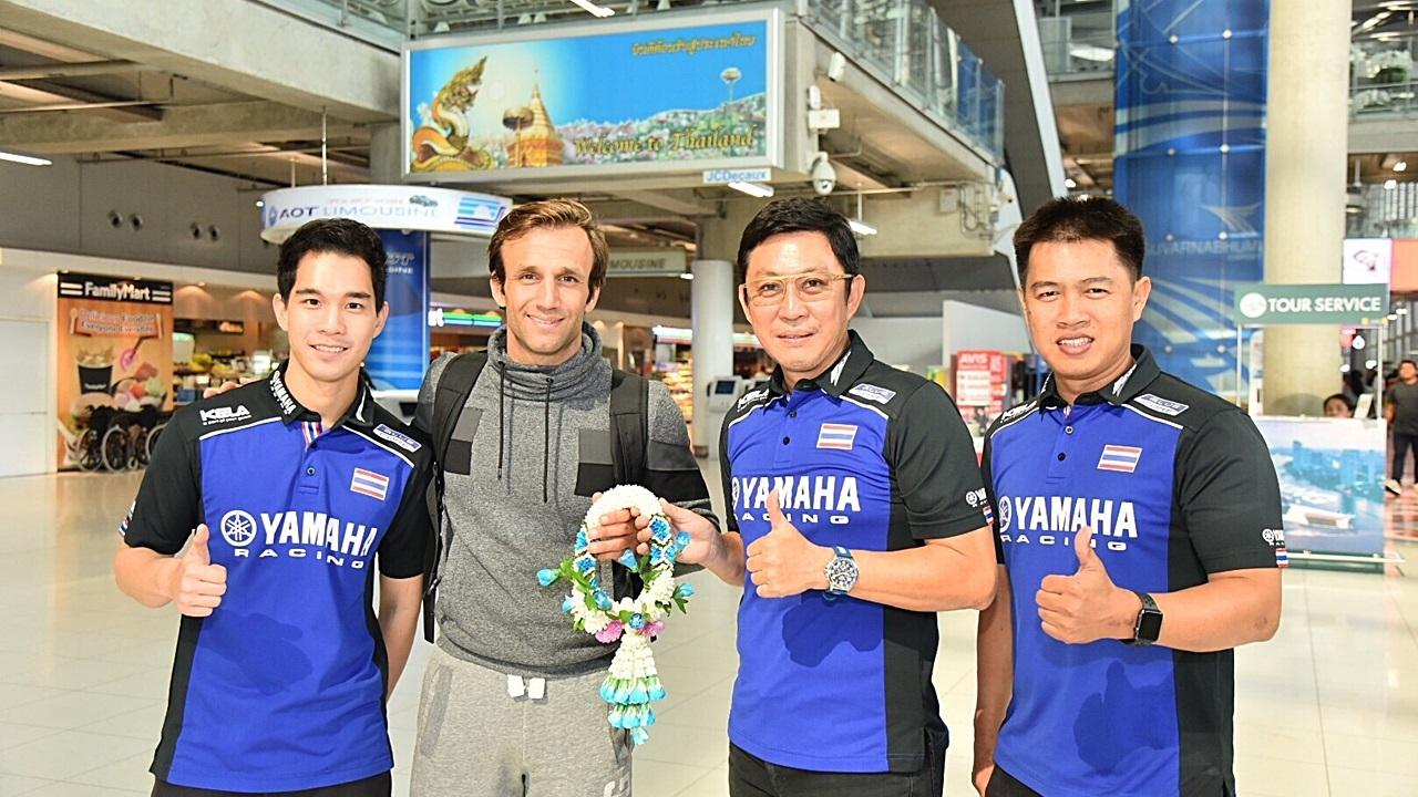 2 นักบิดยามาฮ่าถึงไทยแล้ว พร้อมลุยศึกโมโตจีพี 2018 ที่บุรีรัมย์