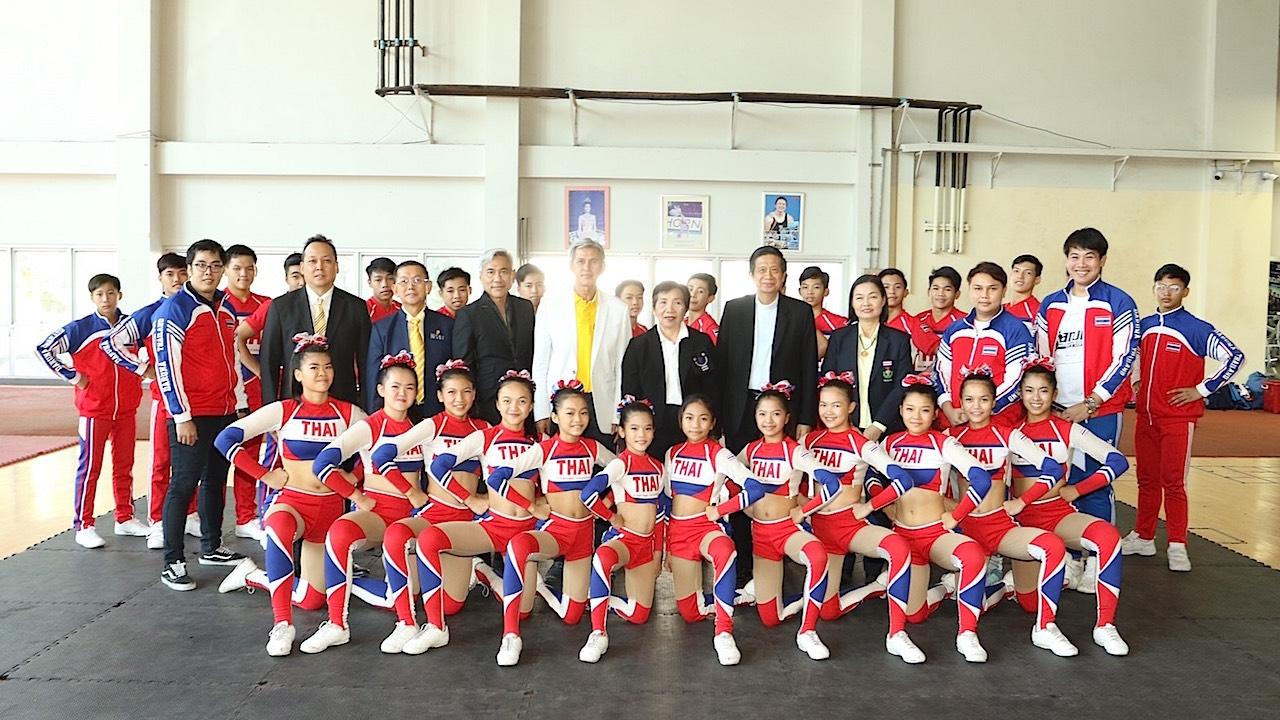 มีลุ้นคว้าแชมป์ เยาวชนไทยร่วมแข่งเชียร์ลีดดิ้งโลกที่สหรัฐฯ 24 เม.ย.นี้